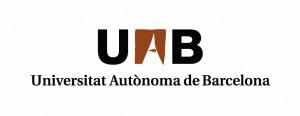 Logo UAB negro y marrón